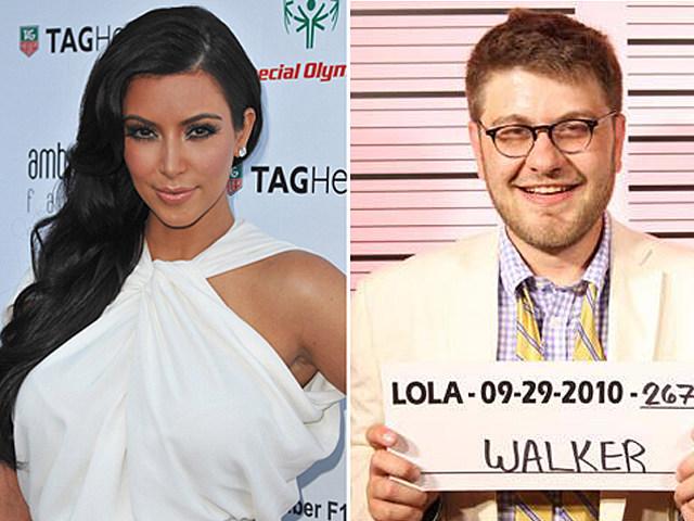 Kim Kardashian and Hunter Walker