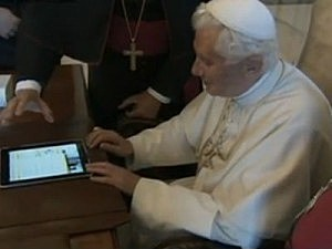 Pope Tweeting