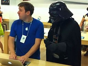 What can you get away with in an Apple Store