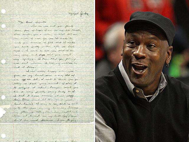 Michael Jordan Love Letter