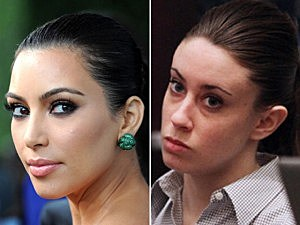 Kim Kardashian and Casey Anthony