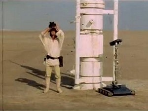 Delated Star Wars Footage