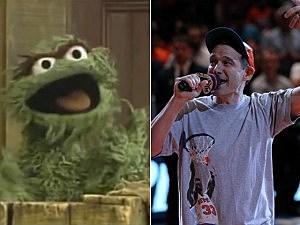 Oscar the Grouch & Adam Horowitz