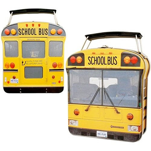 school bus lunch box