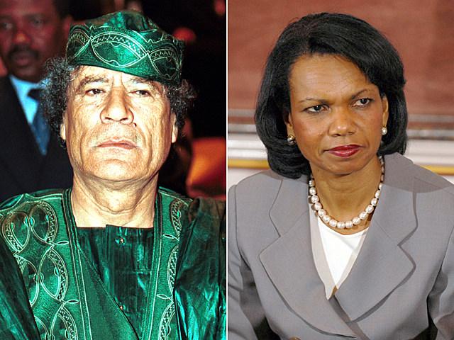 Gadhafi-Rice