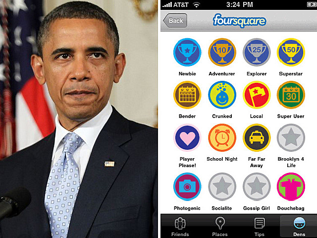 Barack Obama Foursquare