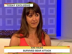 Ani Haas Bear Attack