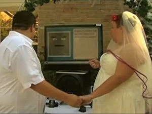 Computer marries couple