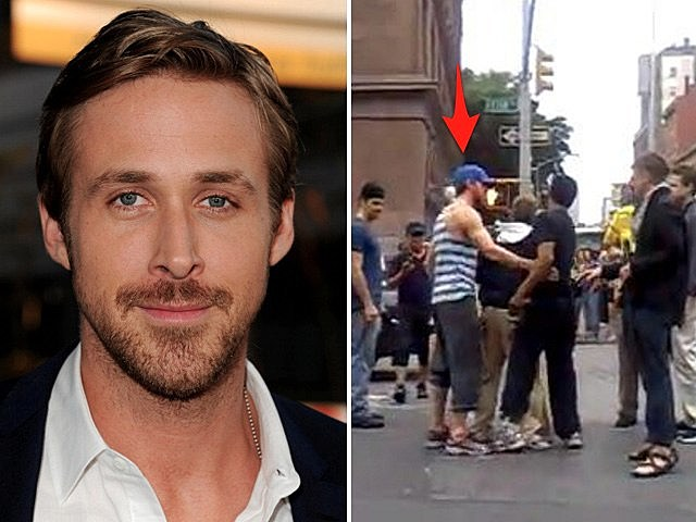 ryan gosling breaks up fight