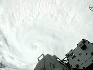 Hurricane Irene As Seen From Outer Space