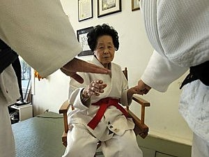 98 year old black belt