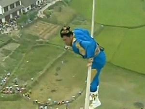 Saimaiti Aishan tightrope