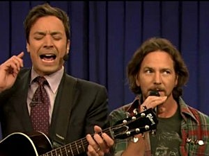 Jimmy Fallon, Eddie Vedder