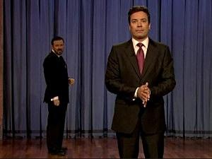 Jimmy Fallon, Ricky Gervais