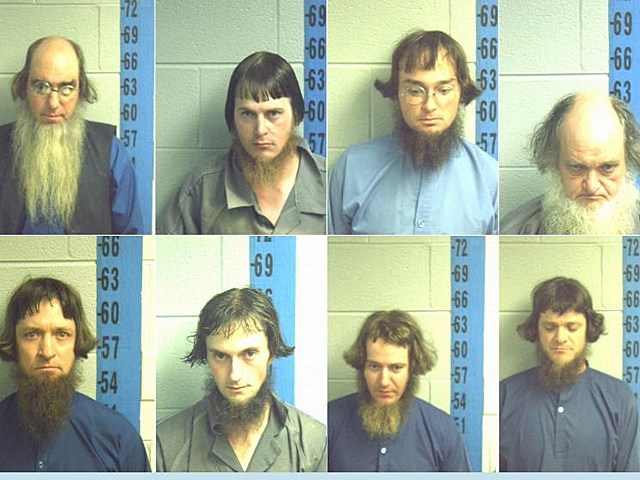 Amish 8 arrested