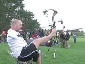 armless archer breaks world record