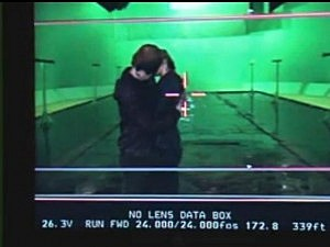 Ron and Hermoine first kiss behind the scenes