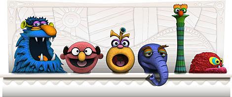 Henson Google Doodle