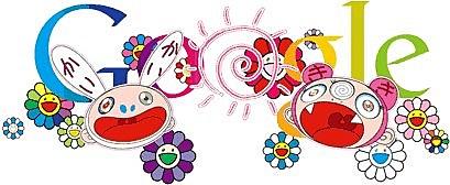 Murakami Google Doodle