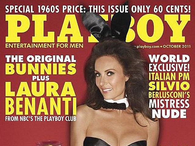 Playboy costs 60 cents in October