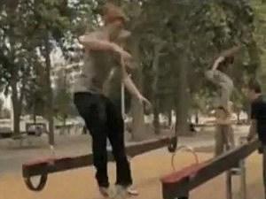 Seesaw jump fail