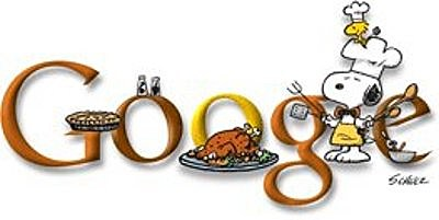 Thanksgiving Snoopy Google