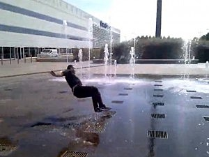 water fountain fail