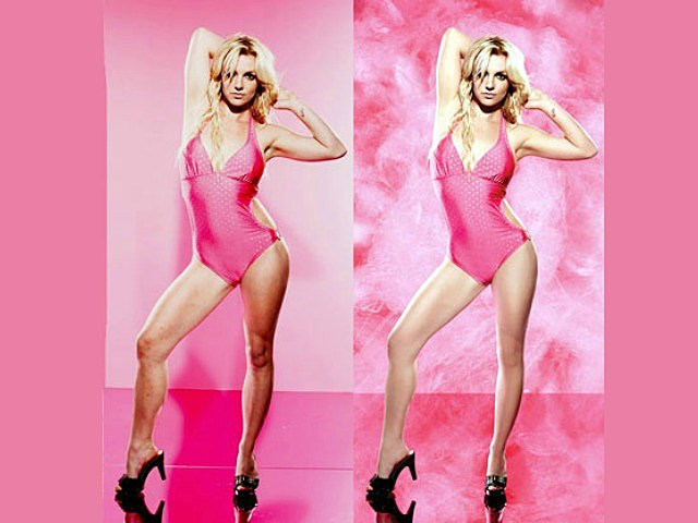 Britney Spears Airbrush Photos