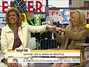 Kathie Lee and Hoda Clam