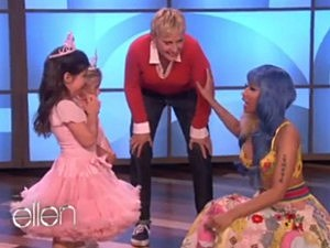 Nicki Minaj Meets Sophia Grace Brownlee