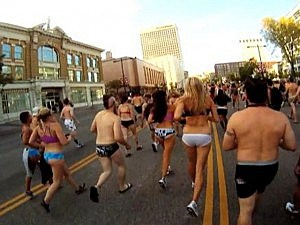 Salt Lake City Undie run