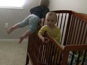 Toddler Escapes from Crib