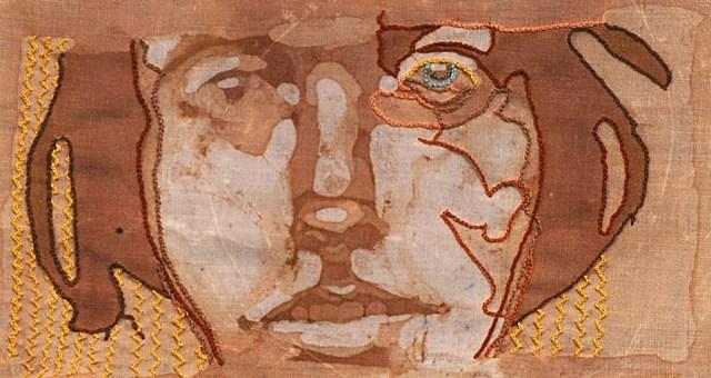 Wine Stain Portrait