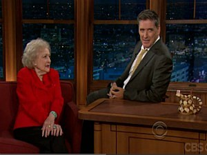 Betty White and Craig Ferguson