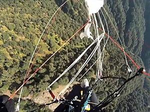 eagle paraglider