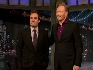 Fallon and Conan