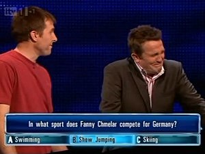 Bradley Walsh hosting 'The Chase'