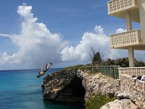 hotel cliff dive