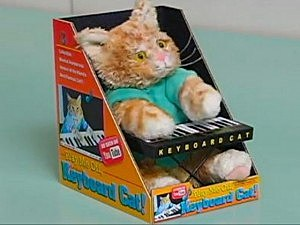 keyboard cat toy