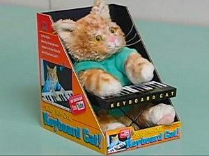 keyboard cat toy