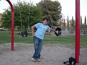 kiddie swing