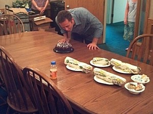 Kirk Cameron Birthday Party