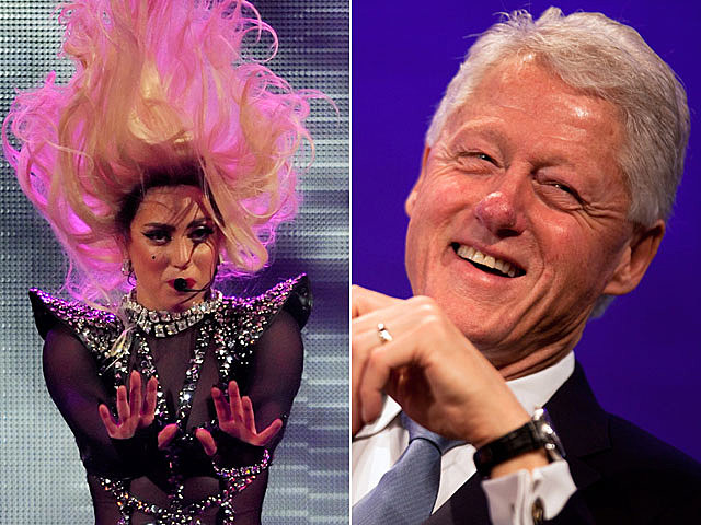 Lady Gaga, Bill Clinton