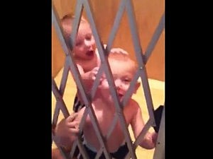 steel cage baby fight