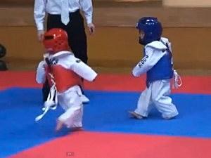 tiny taekwondo