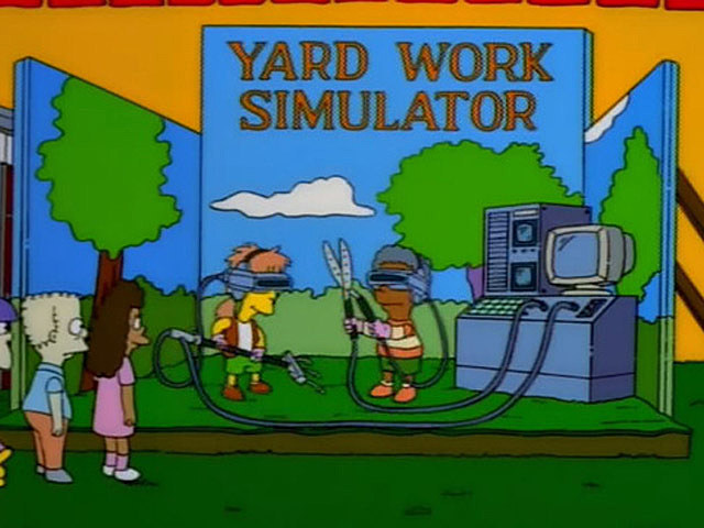 simpsons yard work simulator