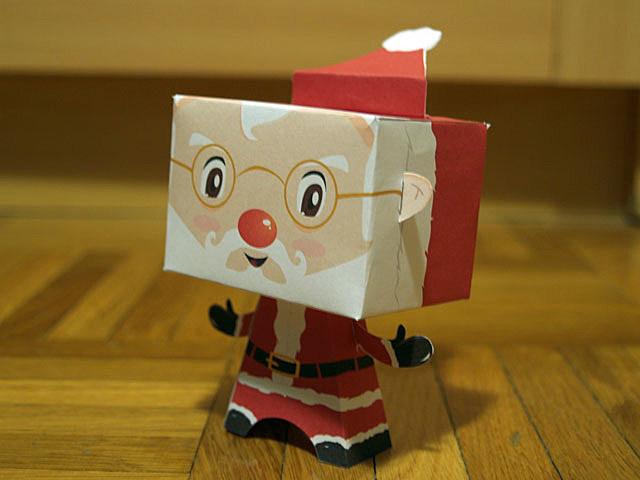 Santa Boxhead