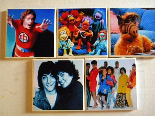 1980s, TV, sitcom, Alf, Joanie, Chachi, Fraggle