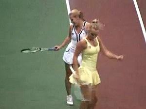 Caroline Wozniacki dancing