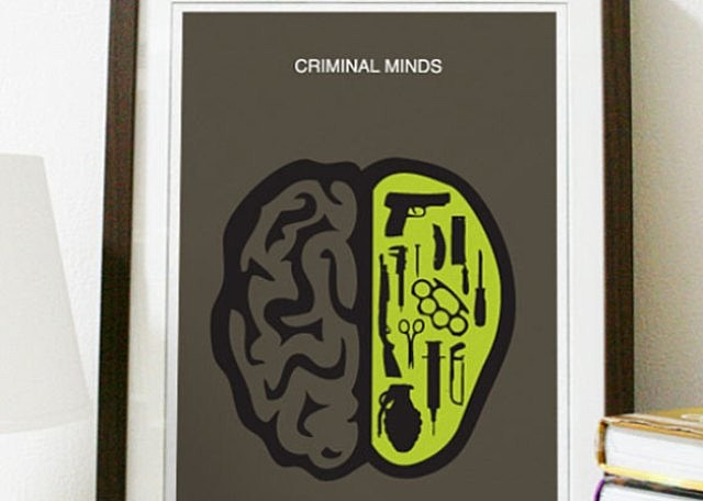 Criminal Minds, artwork, poster